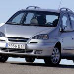 Chevrolet Rezzo: руководство по эксплуатации