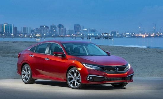 Продажи Honda в США