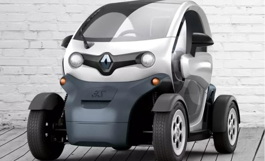 Renault Twizy руководство по эксплуатации