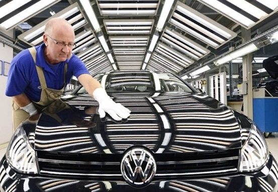 volkswagen продажи автомобилей